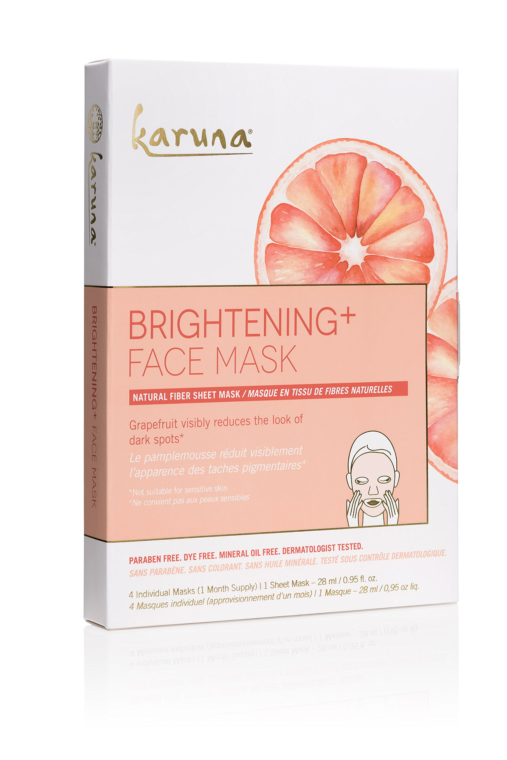 Clarifying Face Sheet Mask - 1 Count by Karuna (pack of 12) Obagi Nuderm TRANSFORMATION SYSTEM Kit of 6 items Normal to Oily Skin SEALED
