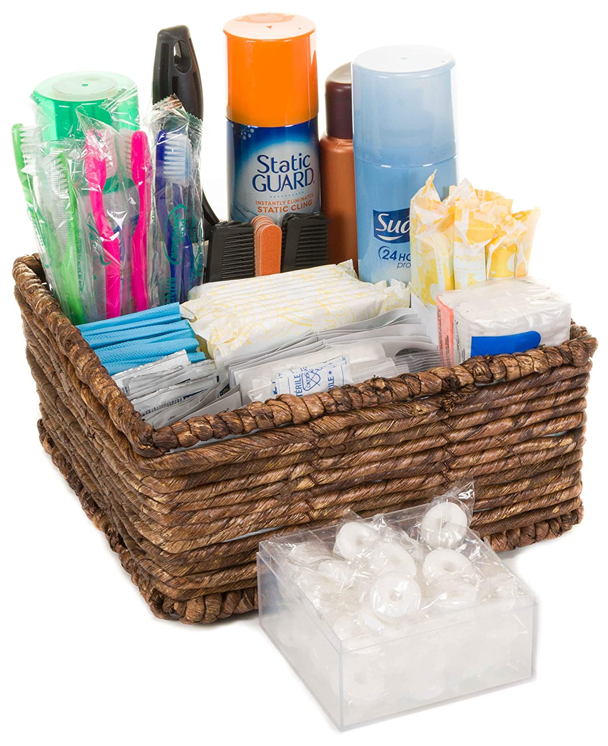 Amazon Com With You In Mind Inc Restroom Amenity Basket Women More Than 50 Guests Beauty