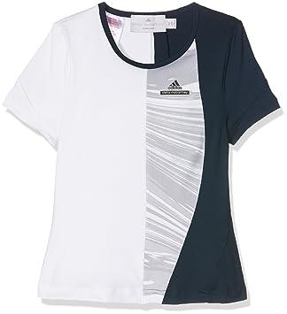 Adidas G tee Camiseta, niña, Azul (Maruni/Blanco), 140: Amazon.es: Deportes y aire libre