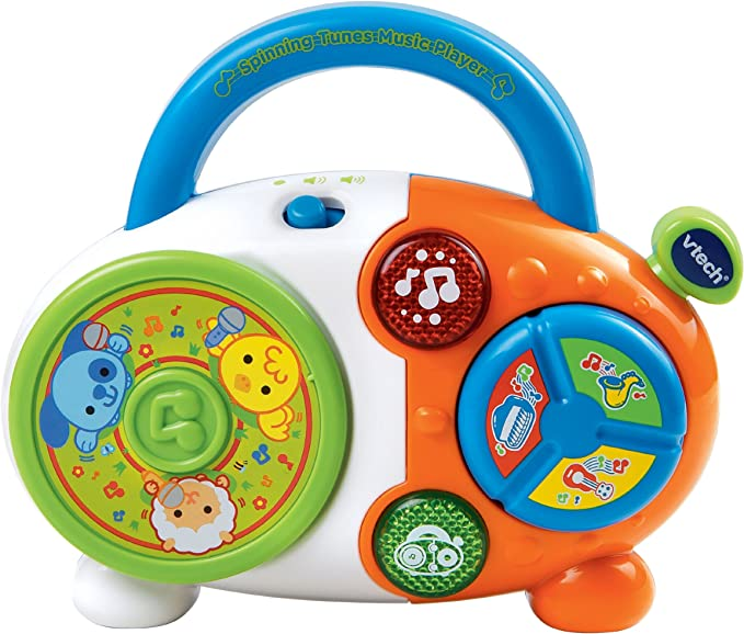 VTech Spinning Tunes Music Player: Amazon.es: Juguetes y juegos