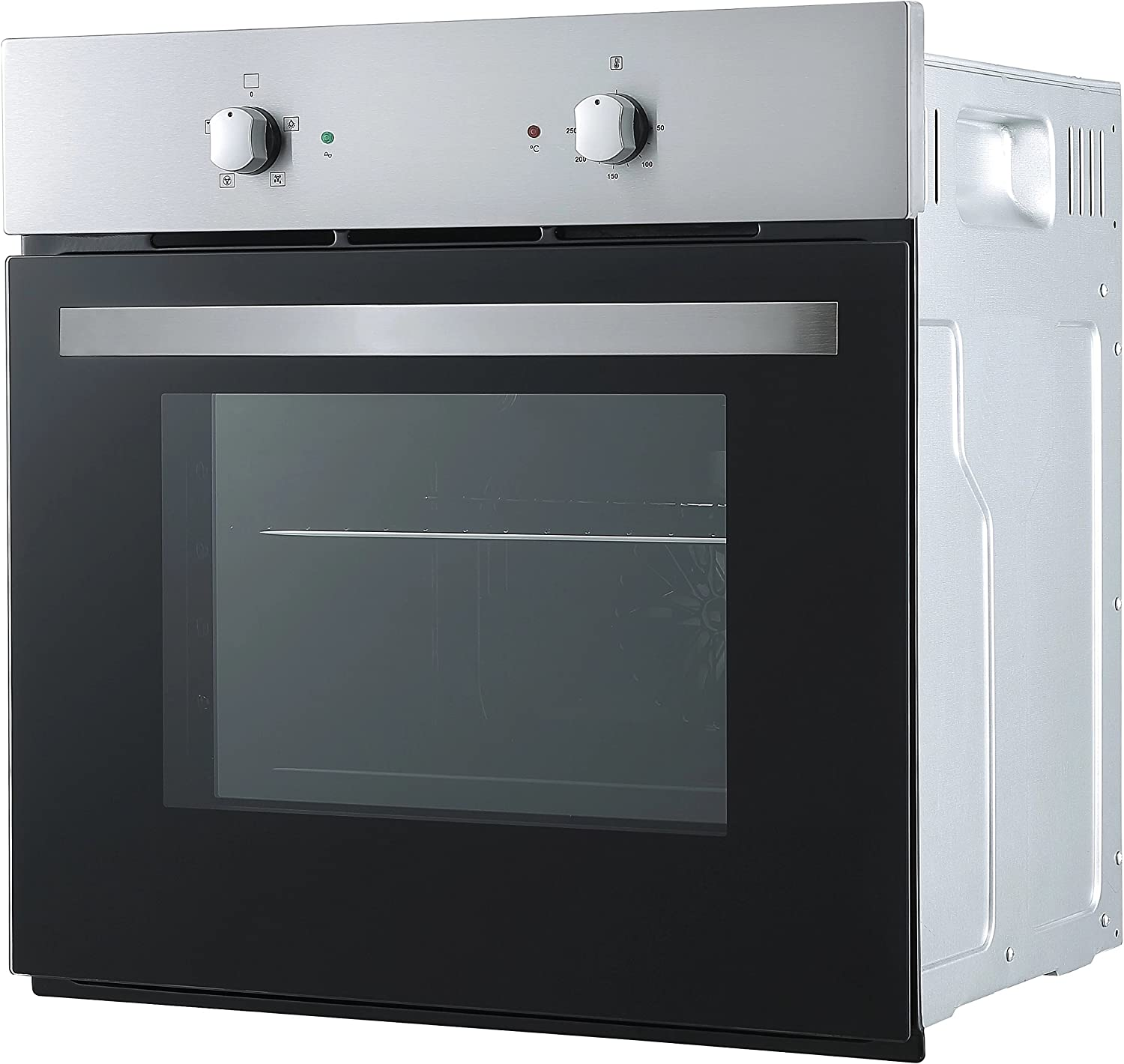 Cookology Single Electric Fan Forced Oven /& 60cm Touch Control Ceramic Hob Pack