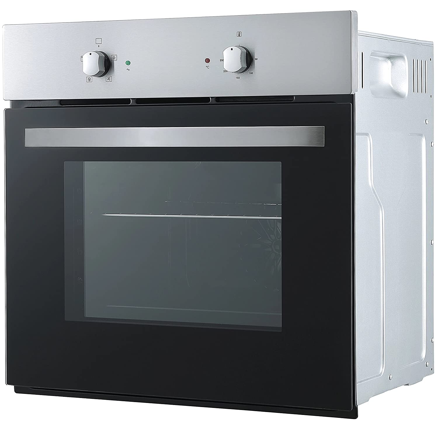 Cookology SFO57SS 60cm Built-in Single Electric Fan Oven in Stainless Steel [Energy Class A+]
