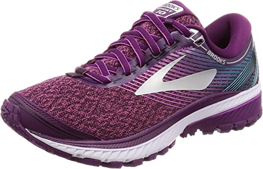 Brooks Ghost 10, Zapatillas de Running para Mujer, Morado (Purple/Pink/Teal 1b511), 38 EU: Amazon.es: Zapatos y complementos