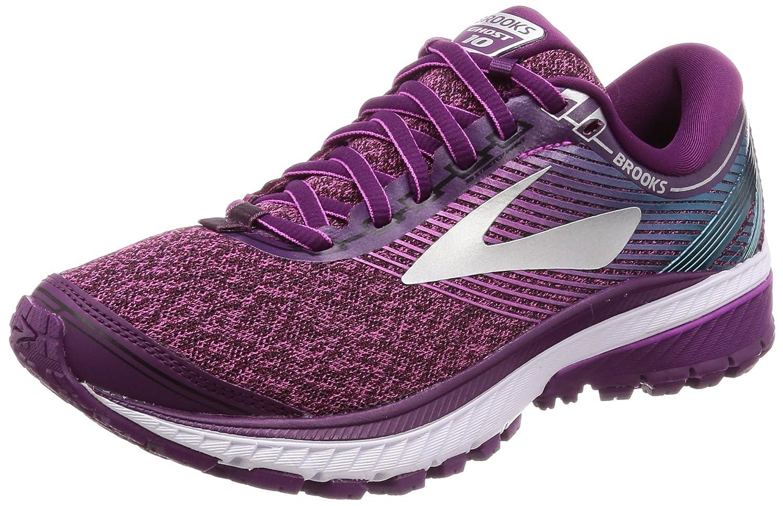 Brooks Women's Ghost 10 Running Shoe B071RYXG2H 11.5 B(M) US|Purple/Pink/Teal
