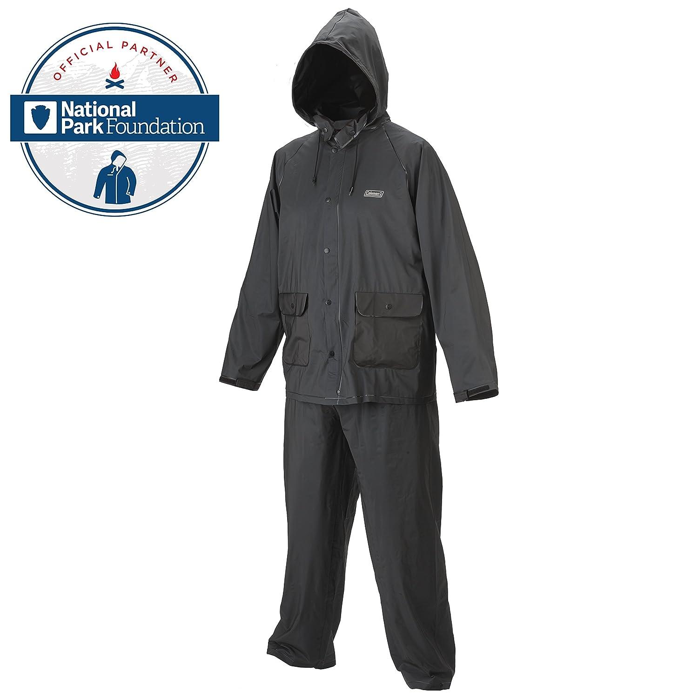 Amazon.com: Coleman 20mm PVC Rain Suit: Sports & Outdoors