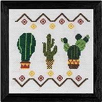 KIT de Punto de Cruz   Cactus  