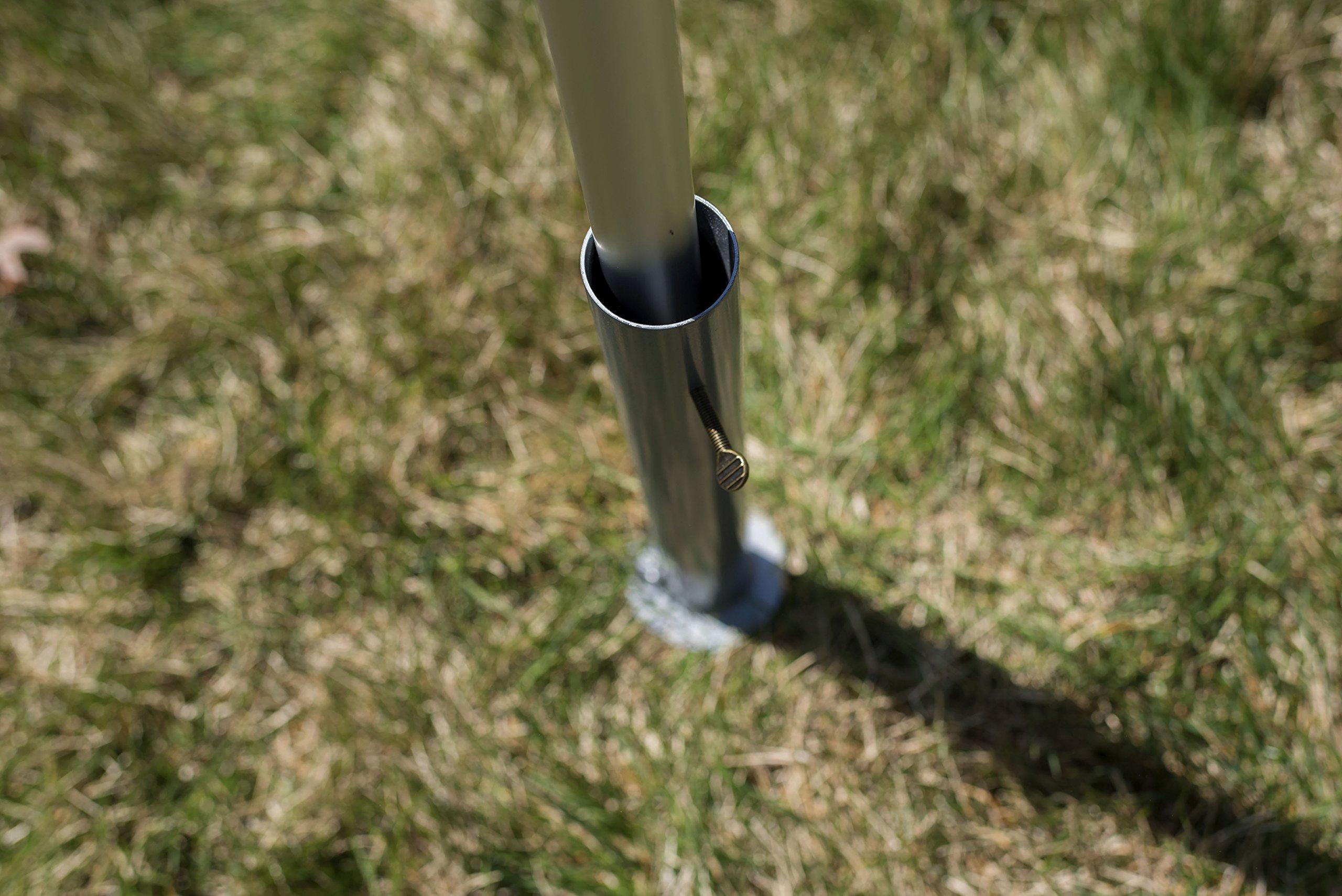 Flagpole-To-Go Ground Mount for Portable Flagpole