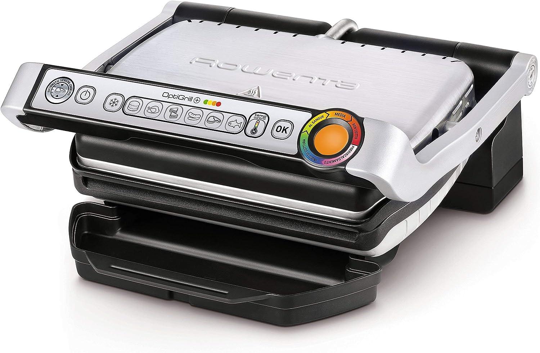 Rowenta GR722D Optigrill XL Bistecchiera Intelligente 9 Programmi Cottura Auto