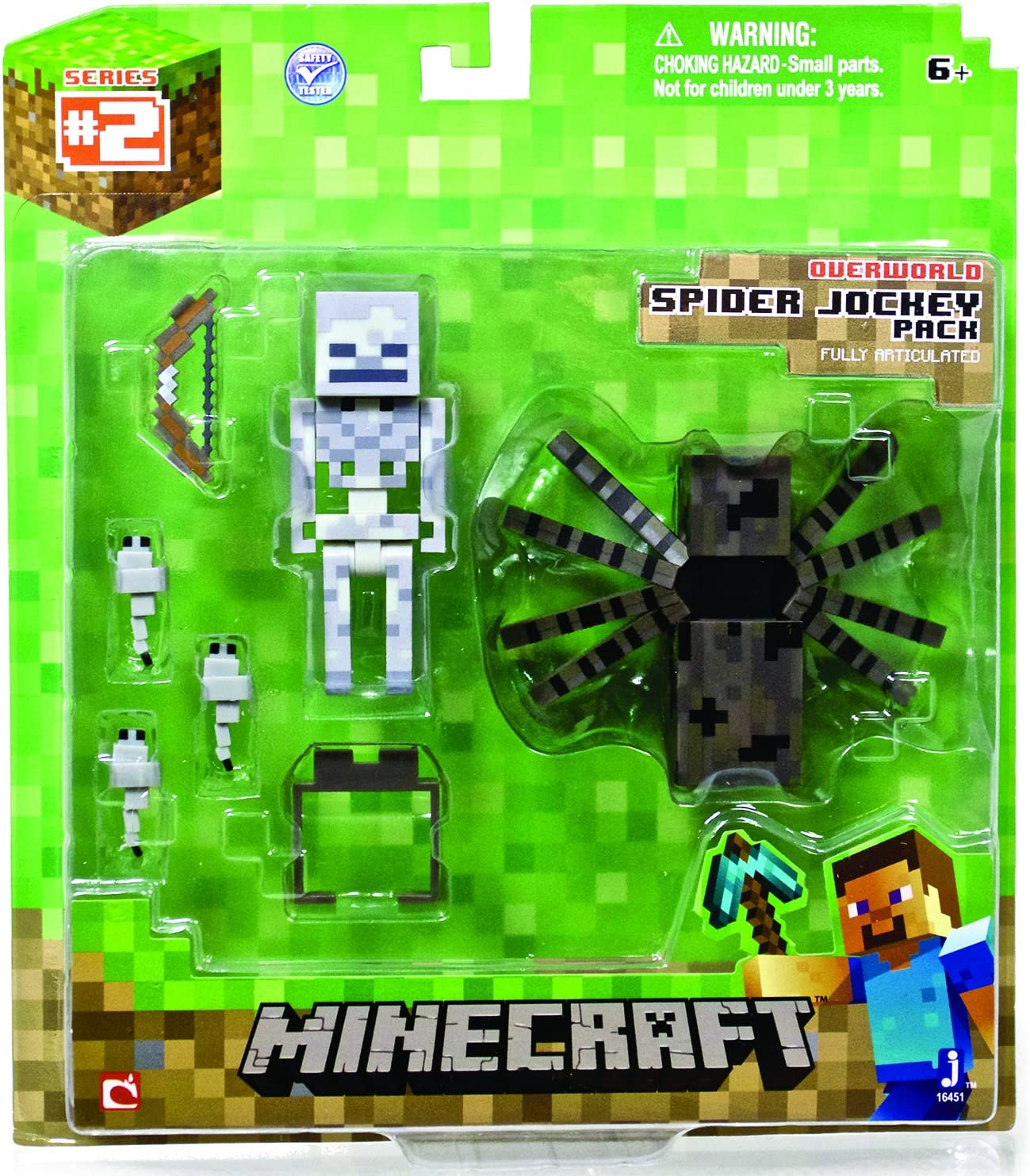 Minecraft - Accesorio para playsets (Character Options 16451 ...
