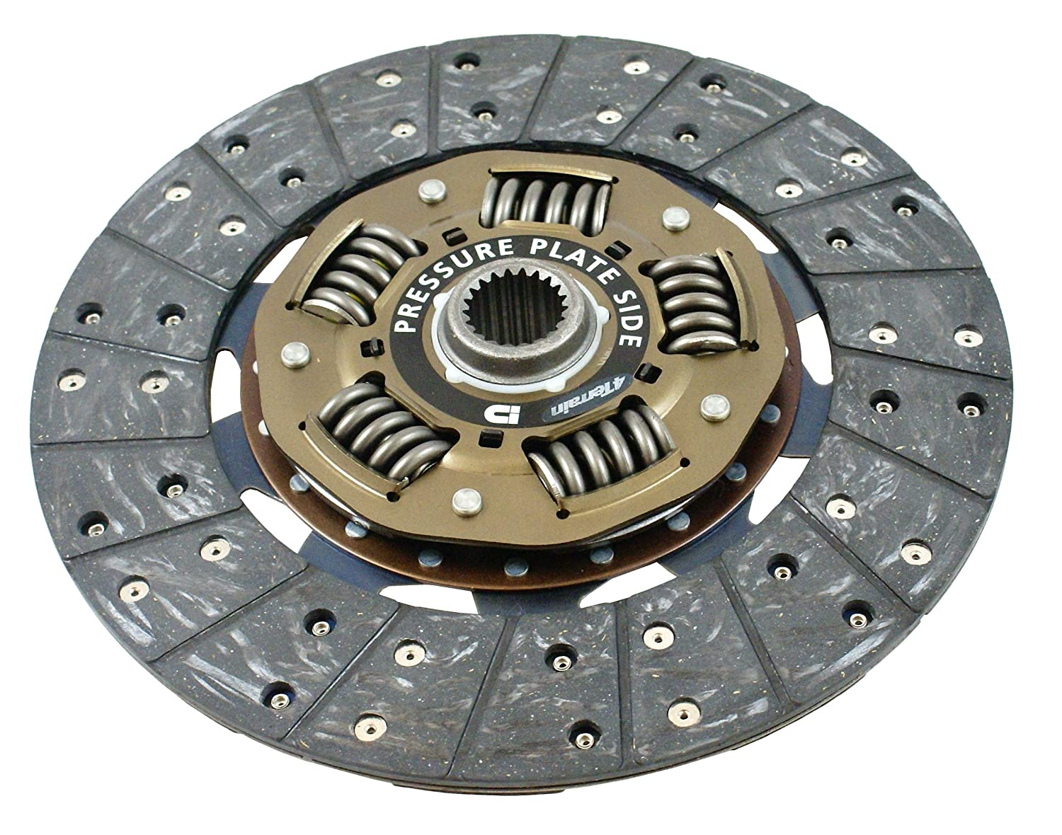 4Terrain Ultimate Premium Clutch Kit | ER2 Heavy Duty Cover Assembly | Dual Friction, High Torque, Clutch Plate | Release bearing | Clutch Alignment Tool ...