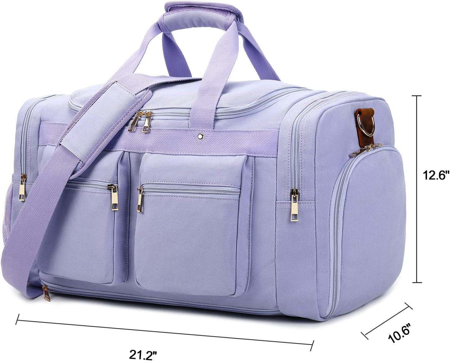 Large Weekender Carry-on Ambesonne Valentine Gym Bag Rainbow Colors Hearts
