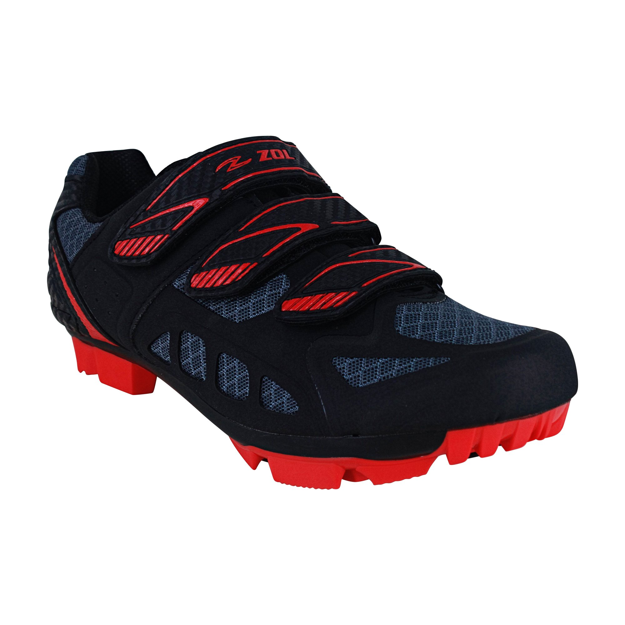 Zol Predator MTB Mountain Bike and Indoor Cycling Shoes 39 by Zol