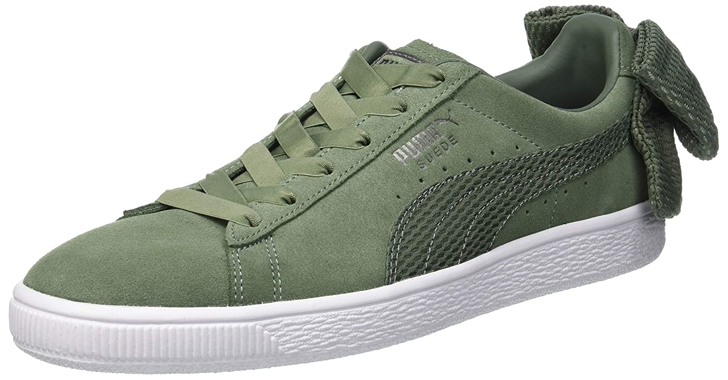 Puma Women s Suede Bow Uprising WN s Low-Top Sneakers  Amazon.co.uk  Shoes    Bags 41513754d