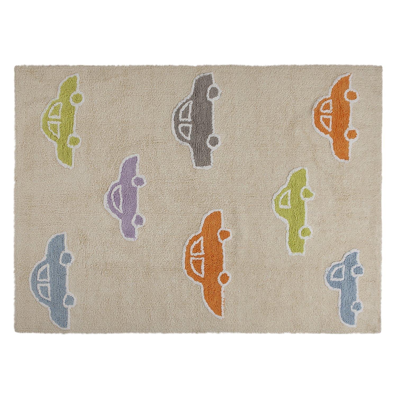 Lorena Canals Coches Washable Rug (Beige/Multicolour) Coches Beige - Multi C-COCH-M