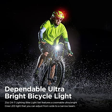 49D9 1793 Bike Bicycle Cycling Silicone Head Front Flashlight LED Outdoor Sports