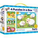Galt Toys Farm 4 Puzzles in a Box