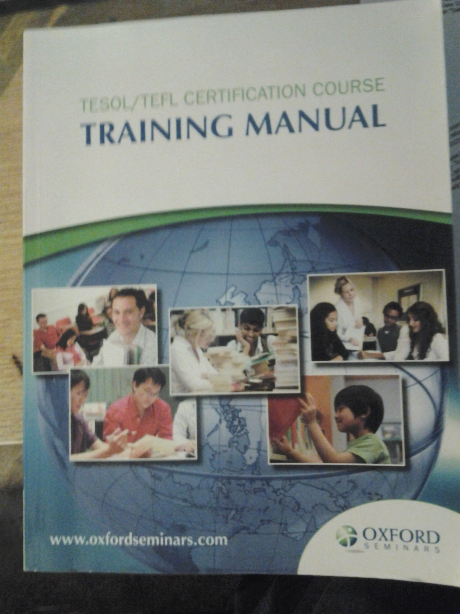 Tesoltefl Certification Course Training Manual Oxford