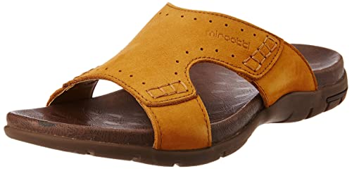 fc5cb003ebb Image Unavailable. Image not available for. Colour  Miraatti Men s Yellow  leather Sandals ...