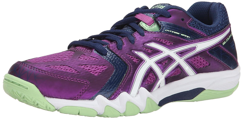 ASICS Women's Gel Court Control Volleyball Shoe B00Q2KCTZ6 11 B(M) US|Grape/Navy/White