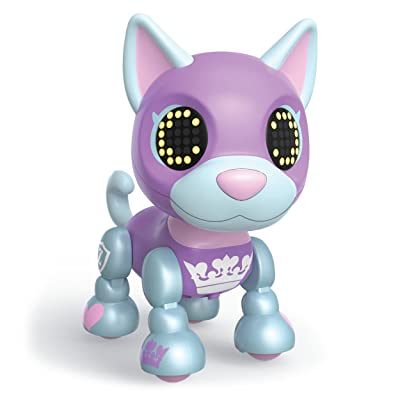 Zoomer Zupps Royal Pups, Duchess Husky, Litter 4 - Interactive Puppy with Lights, Sounds and Sensors: Toys & Games