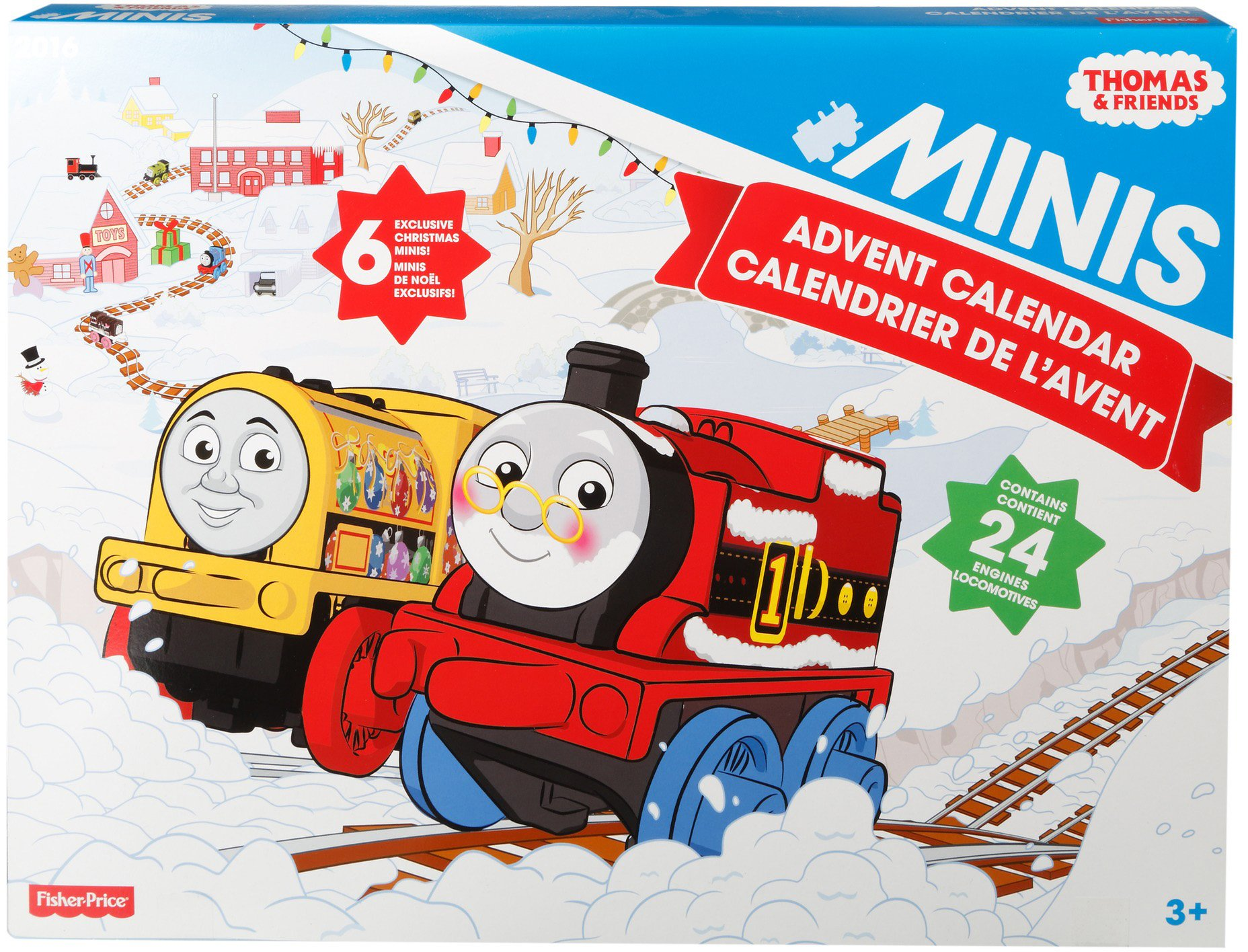 Thomas & Friends Fisher-Price MINIS, Advent Calendar by Thomas & Friends (Image #5)