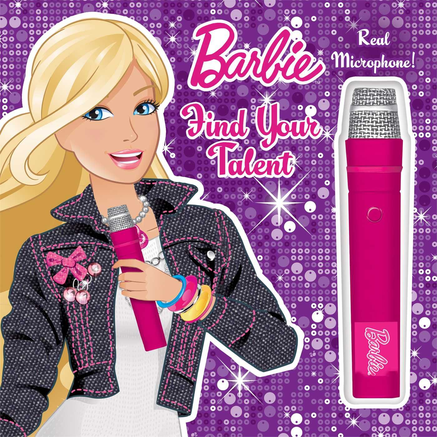 Download Barbie Find Your Talent: Book with Microphone ebook