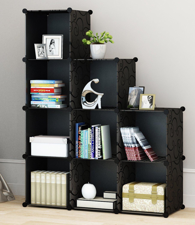 Do It Yourself Home Design: Portable Storage Shelf Cube Shelving Bookcase Bookshelf