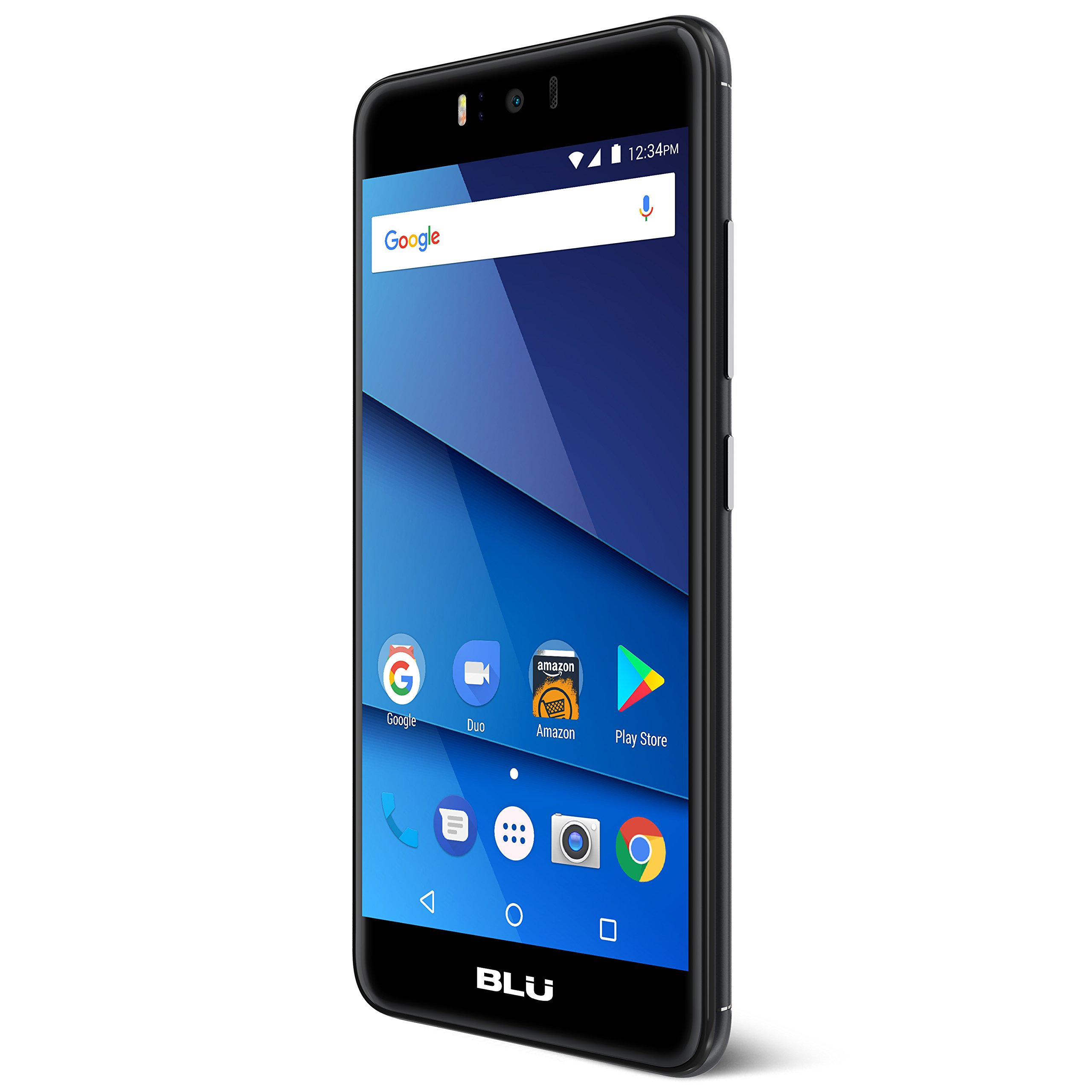 "BLU R2 PLUS – 4G LTE 5.5"" Full HD Unlocked Smartphone – 32GB + 3GB RAM -Black"