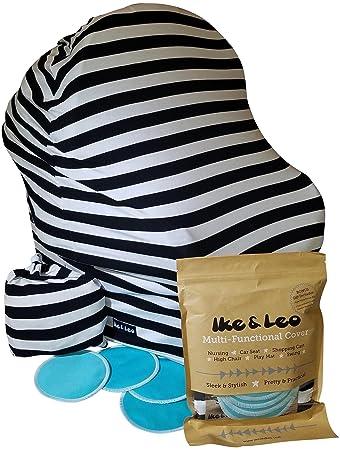 Premium Baby Car Seat Cover Set By Ike u0026 Leo - Multipurpose Stretchy Baby Cart Canopy  sc 1 st  Amazon.com & Amazon.com: Premium Baby Car Seat Cover Set By Ike u0026 Leo ...