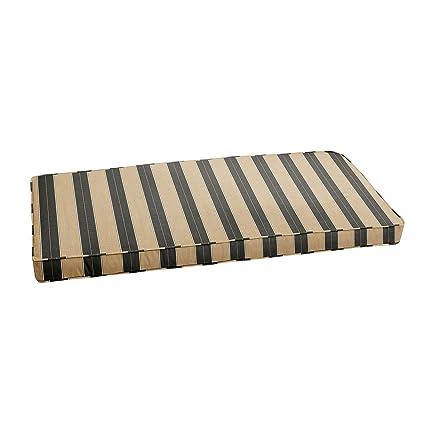 Amazon.com: Mozaic AMZCS112882 Sunbrella - Banco de cojín ...