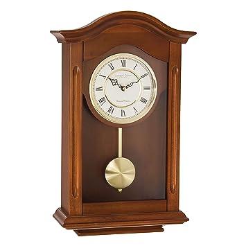 London Clock 25054 - Orologio a pendolo da parete, finitura ...