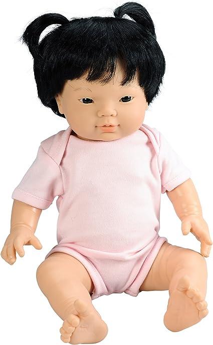 Baby Bijoux Asian Girl Doll, 15.75