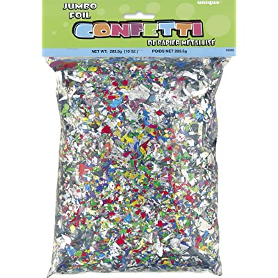 Jumbo Bag of Foil Confetti, 10oz: Kitchen & Dining