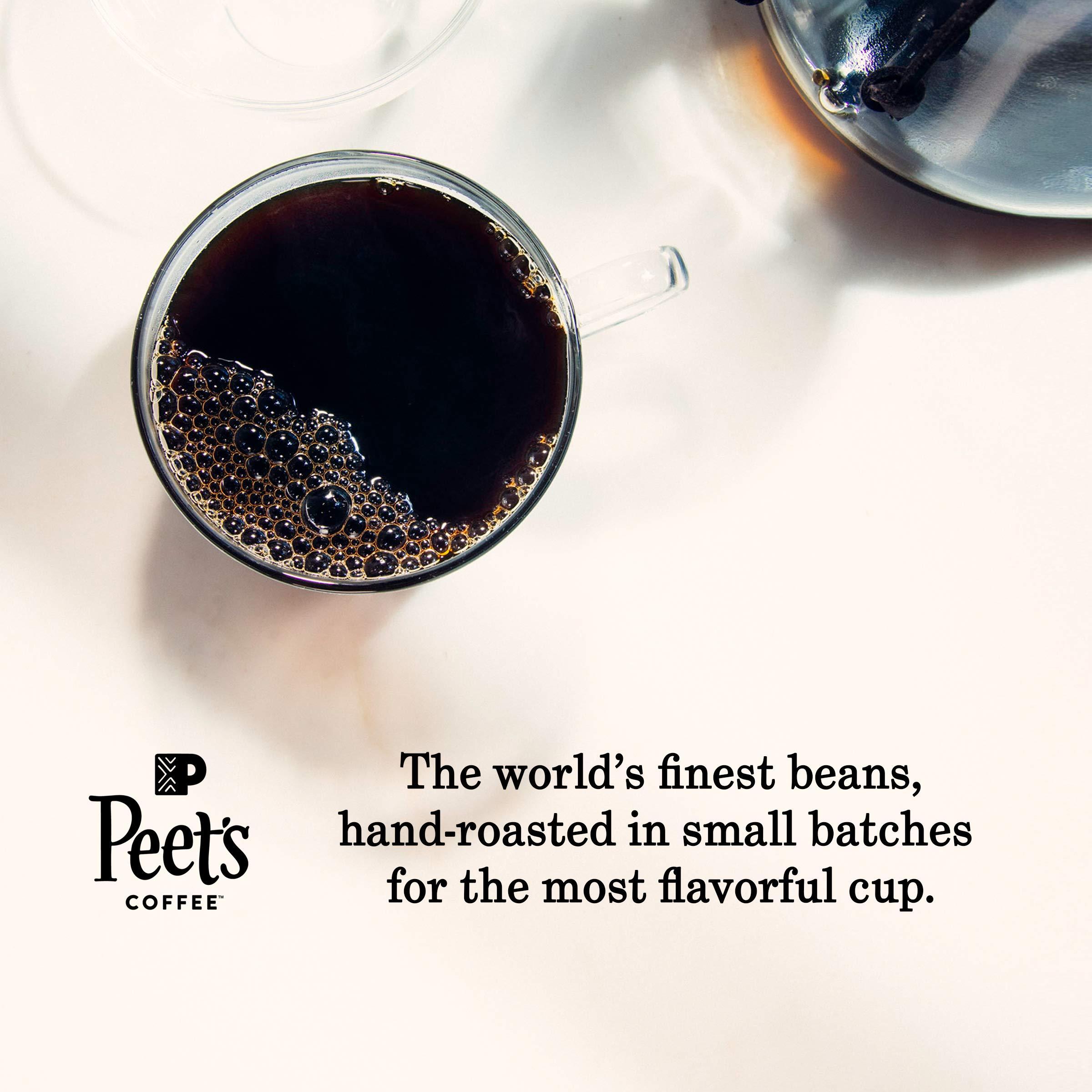 Peet's Coffee French Roast, Dark Roast, 16 Count Single ...