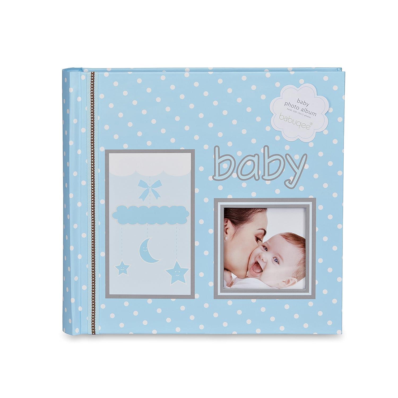Photo album my babies dream - Fotoalbum Baby`s Traum blue/blau, Fotoalbum mit Einsteckhülle für 200 Fotos Babuqee 999220