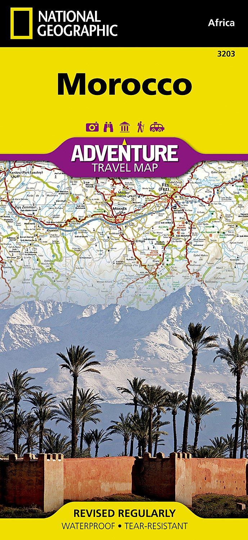 Marokko: NATIONAL GEOGRAPHIC Adventure Maps