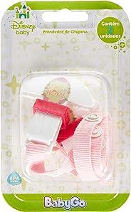 Disney Baby Go, Prendedor de Chupetas Polipropileno 2 Unidades Blister (cores sortidas)