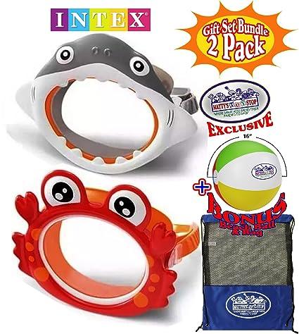 9df315d40d36 Amazon.com  Matty s Toy Stop Aquaflow Mini Fun Masks (Swim Goggles ...