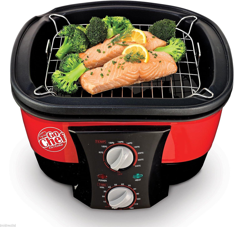 JML Robot de Cocina 8 en 1 V0740 Go Chef, 1500 W, Rojo, Talla ...
