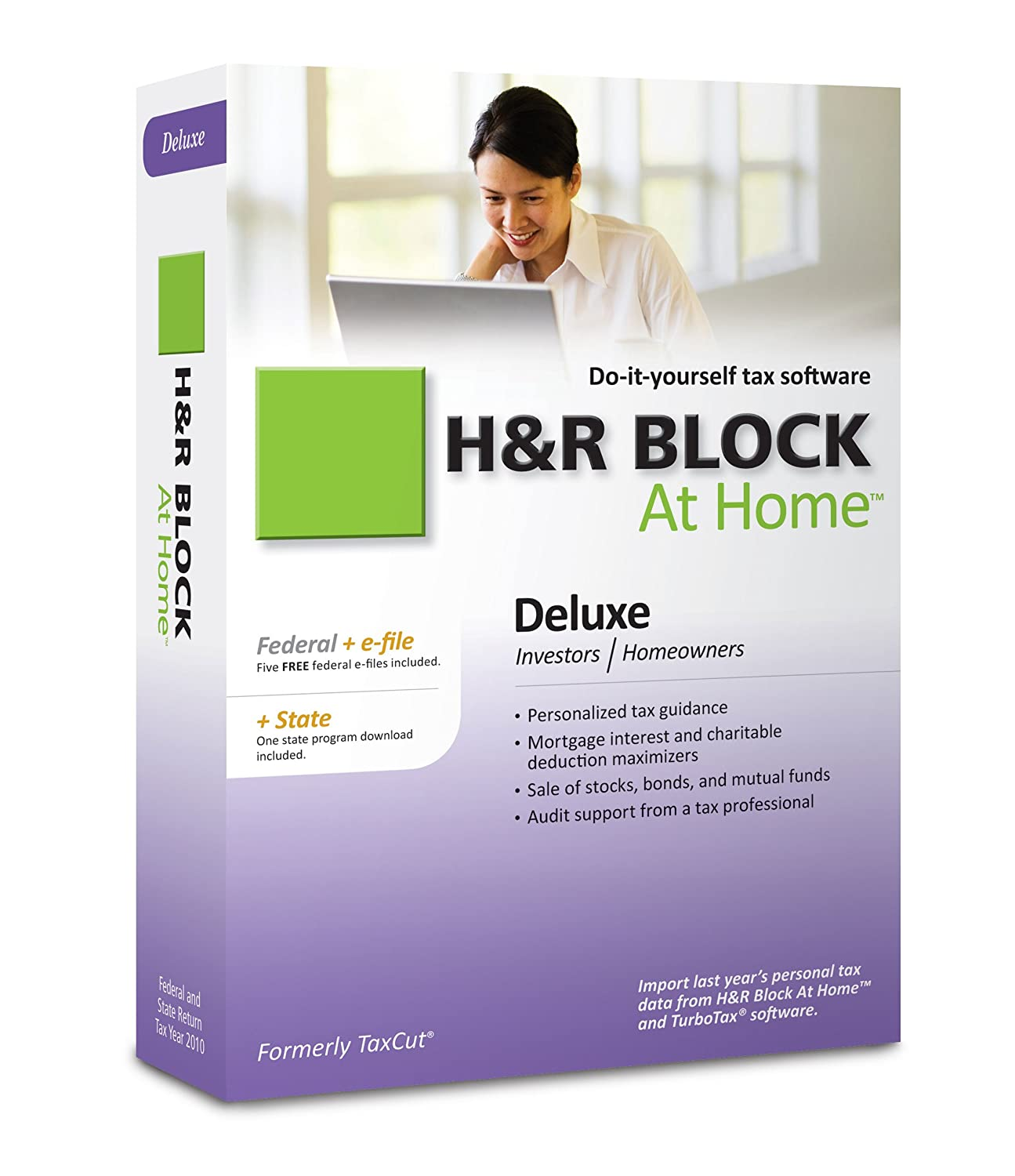 Bathroom specialists product gallery baths downloader - Amazon Com H R Block At Home 2010 Deluxe Federal State Efile Download Old Version Software