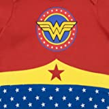Wonder Woman Baby Girls' DC Comics Footies Size 6-9M