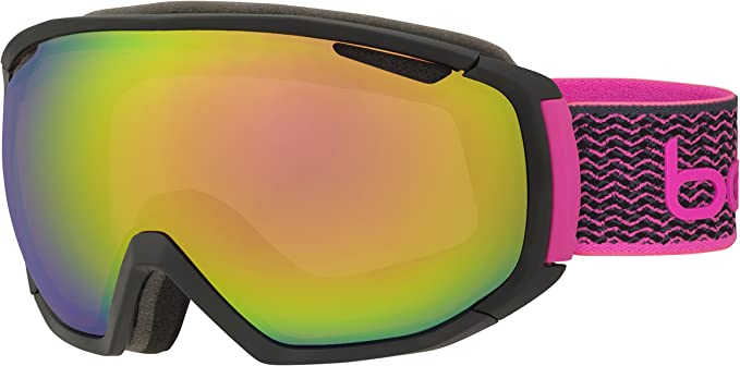Bolle Ski Snowboard Goggles Child Youth 3-6 Pink Brand New 100/% UV Protection