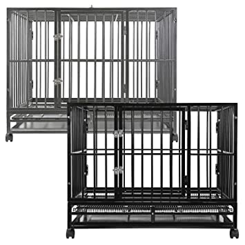 Amazon Smithbuilt Heavy Duty Dog Cage 36 Inch Black Pet