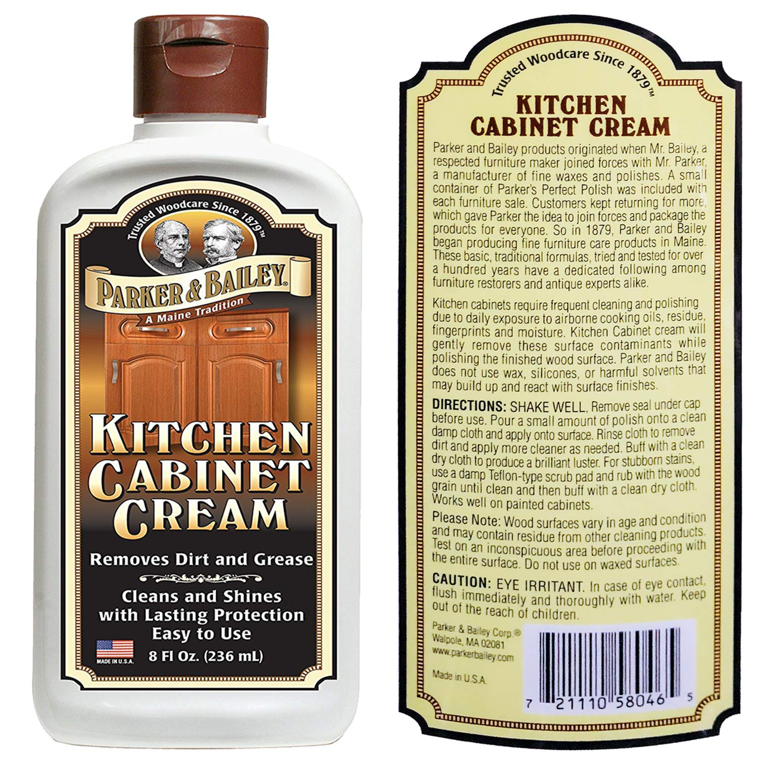 Parker and Bailey- Granite & Stone Cleaner Bundled with Kitchen Cabinet Cream by Parker & Bailey (Image #3)