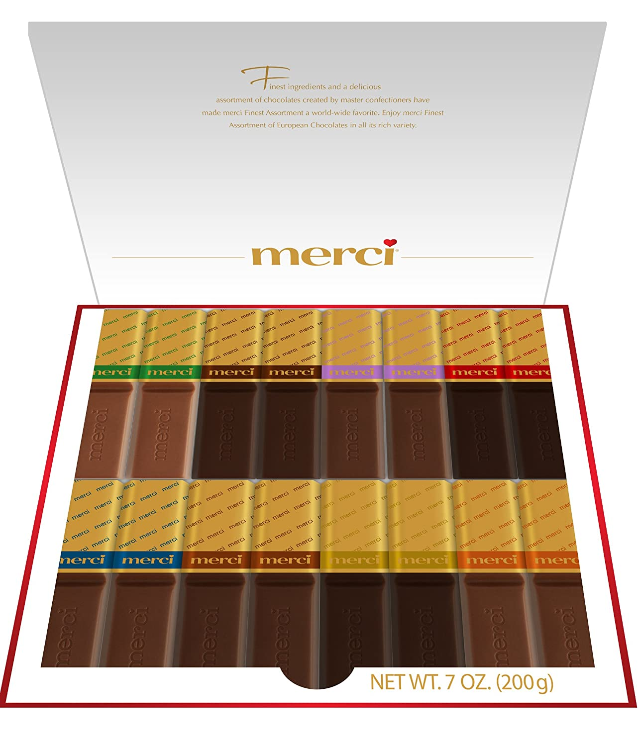 Amazon.com : Merci Finest Selection, Assorted, 14.1 Ounce (Pack of ...