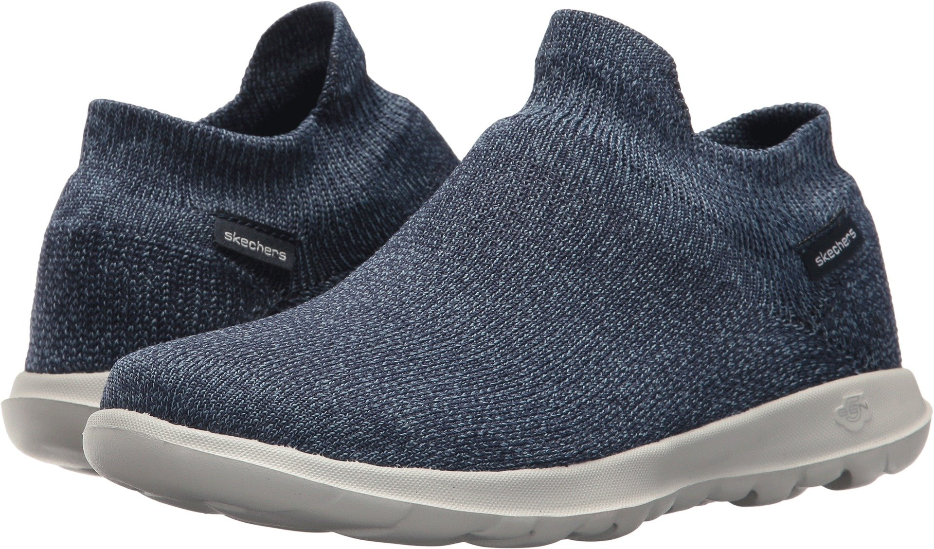 Skechers Performance Women's Go Walk Lite-15372 Sneaker,Navy,8.5 M US