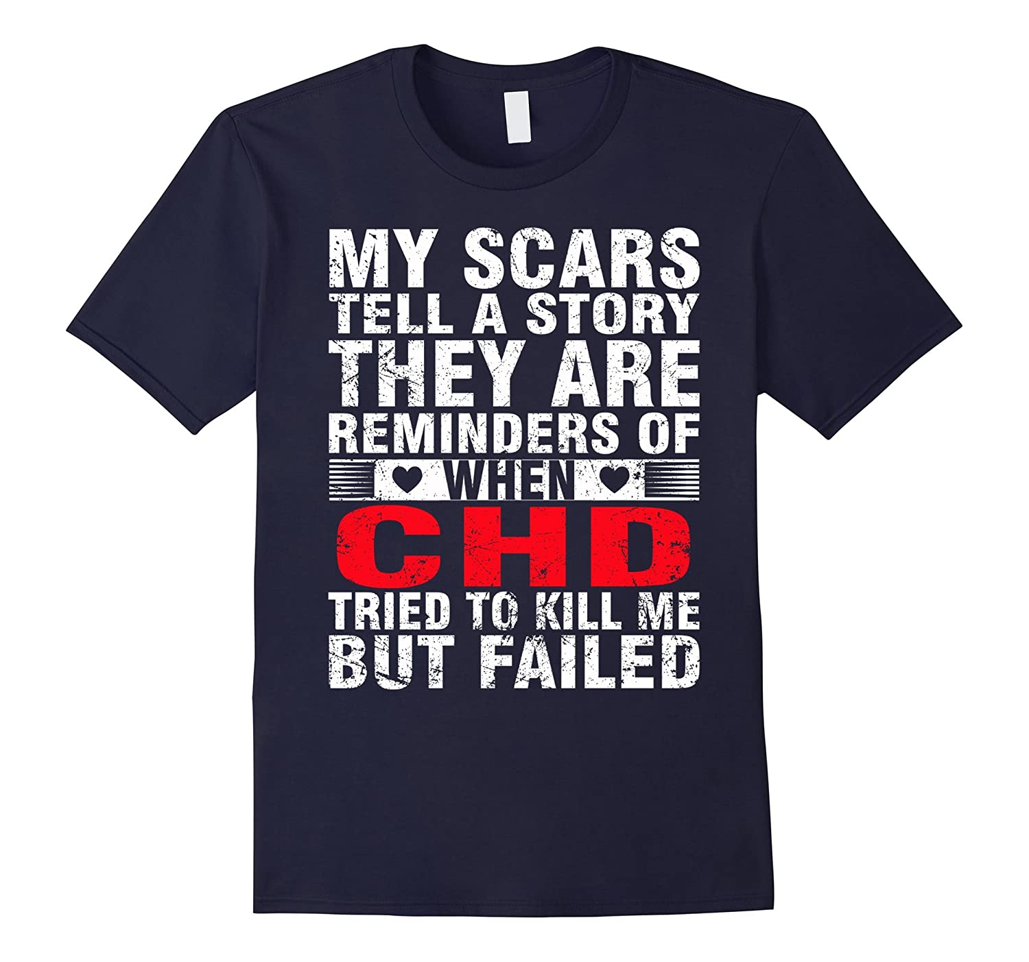 CHD TRIED TO KILL ME BUT FAILED T SHIRT-FL