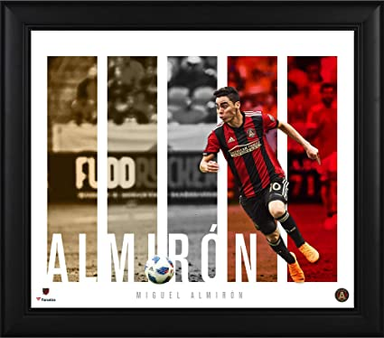 ba892bbf7da Miguel Almiron Atlanta United FC Framed 15   x 17   Player Panel Collage