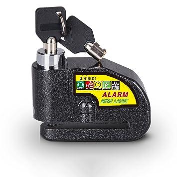 Alarma antirrobo Disco Cerradura obdator Moto Moto Alarma ...