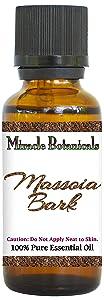 Miracle Botanicals Massoia Bark Essential Oil - 100% Pure Cryptocaryo Massoio - Therapeutic Grade - 30ml